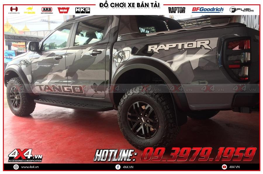Những tiện ích khi độ cửa hít xe Ranger Raptor tại gara độ 4x4