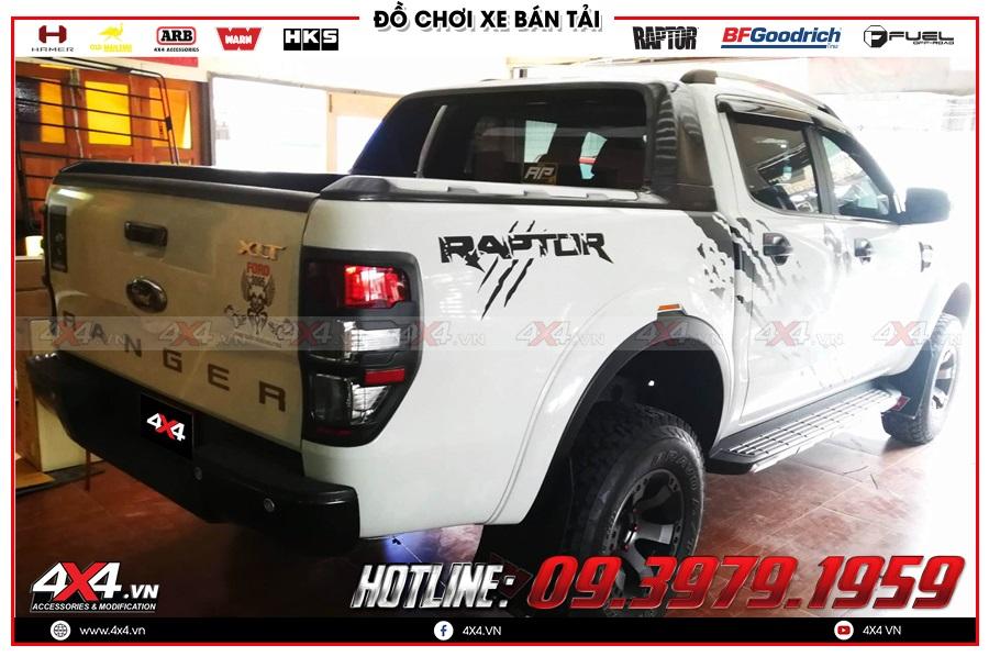 Cửa hít tự động xe Ranger Raptor chất lượng tốt tại TP.HCM