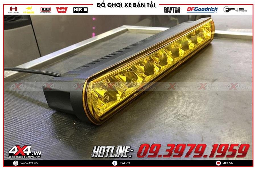 Trải nghiệm Đèn led bar trợ sáng rẻ và chất dành cho xe bán tải Dmax