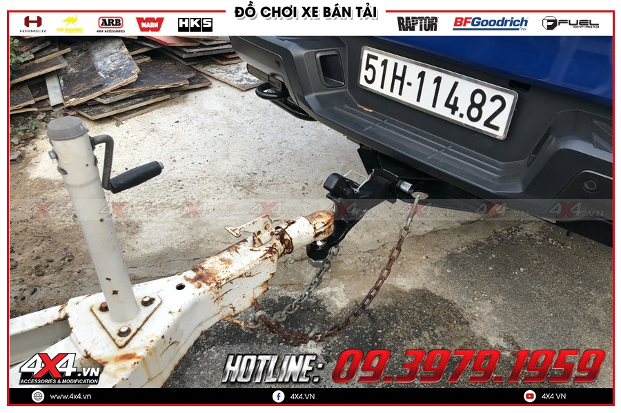 Ưu Điểm khi Lắp Đặt móc kéo sau càng cua cho xe Ranger Raptor 2020 tại TP.HCM