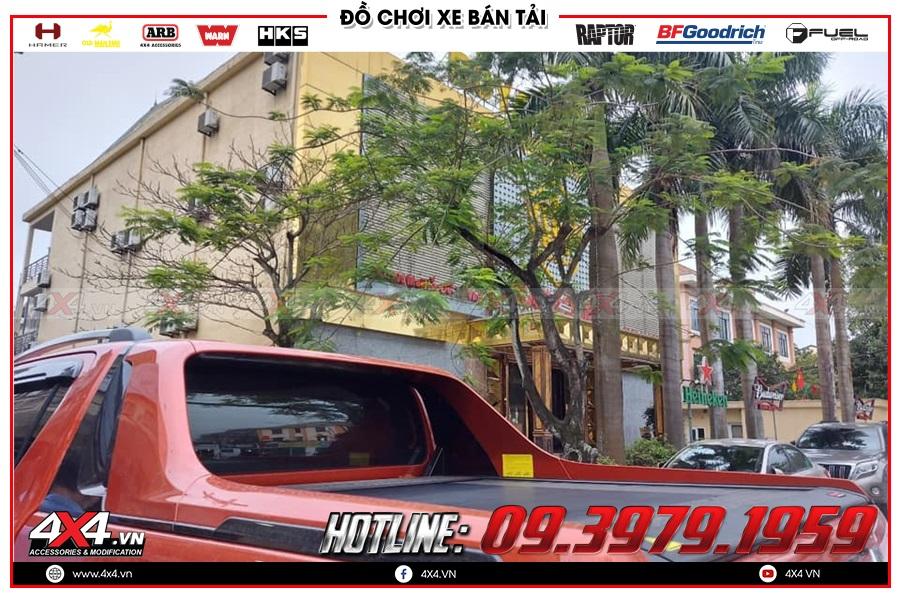 Dùng nắp thùng Remote điện cho xe Toyota Hilux có tốt không?