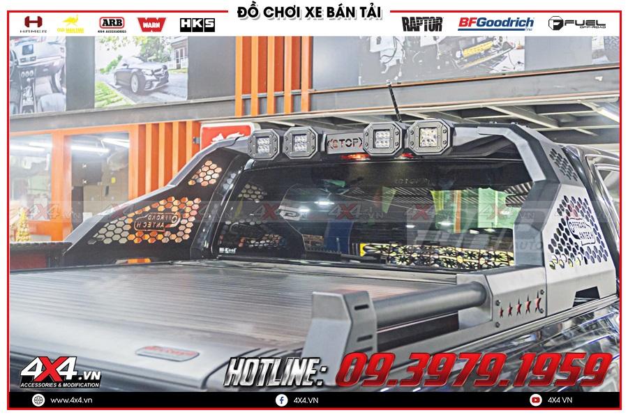 Báo giá nắp thùng Bestwyll cho xe Ranger Raptor