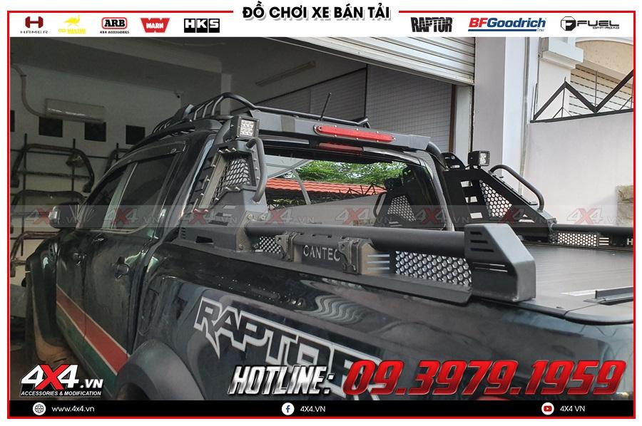 Báo giá nắp thùng cuộn dành cho xe Ranger Raptor 2020 nhập khẩu Thailand