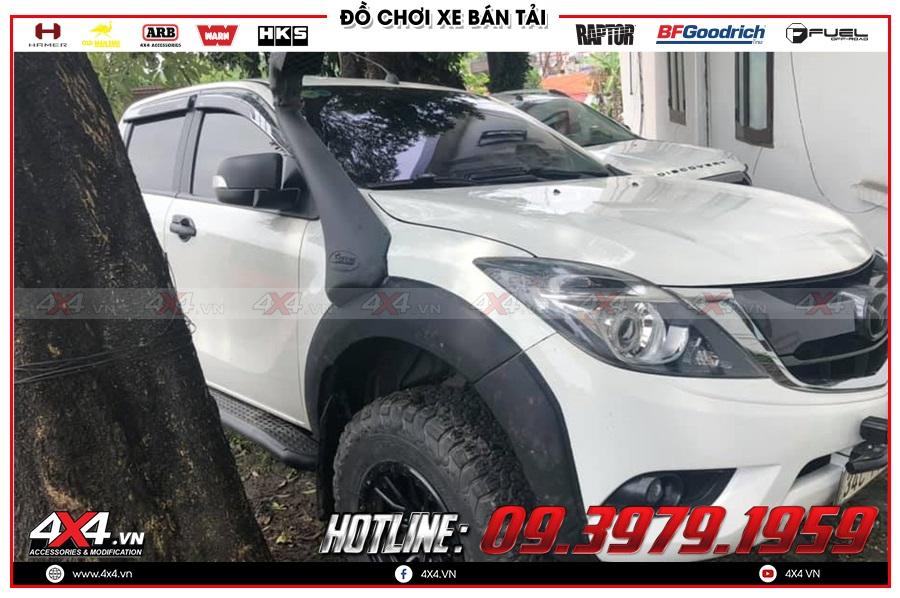 Giá ống thở dành cho xe Mazda BT50 2020 hàng nhập Thái Lan