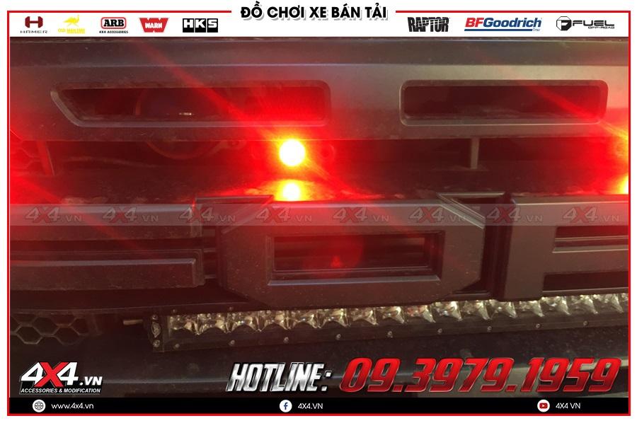 Chuyên lắp đèn led định vị cho xe Ranger Raptor 2020 tại TP.HCM