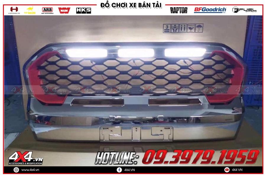 Thay đèn led định vị xe Ranger Raptor 2020 cực chất tại 4x4