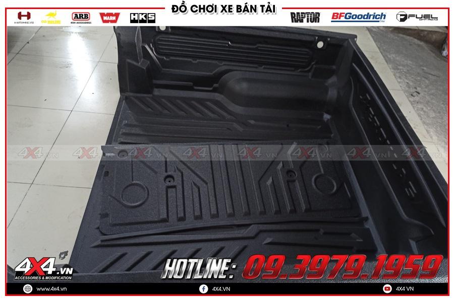 Thông tin về lót thùng Aeroklas cho xe Ford Ranger độ đẹp tại 4x4