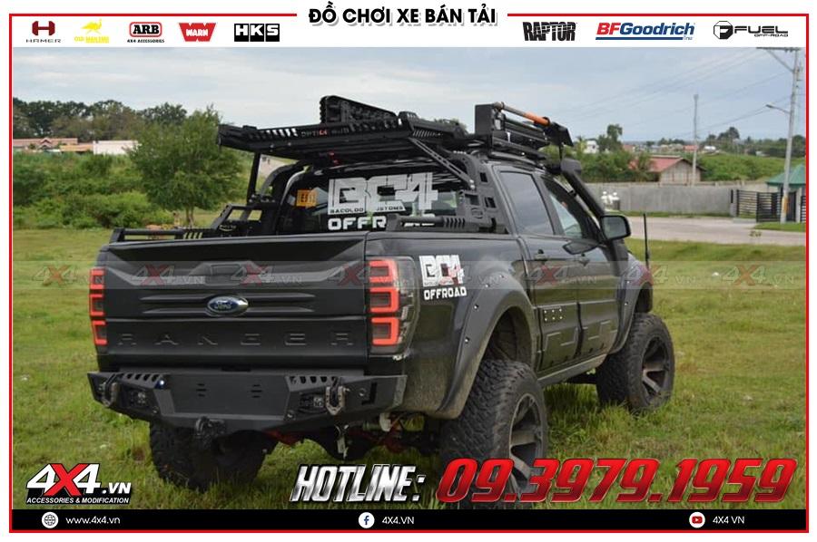 Những điều cần biết về độ móc kéo sau càng cua cho xe Ford Ranger ở HCM