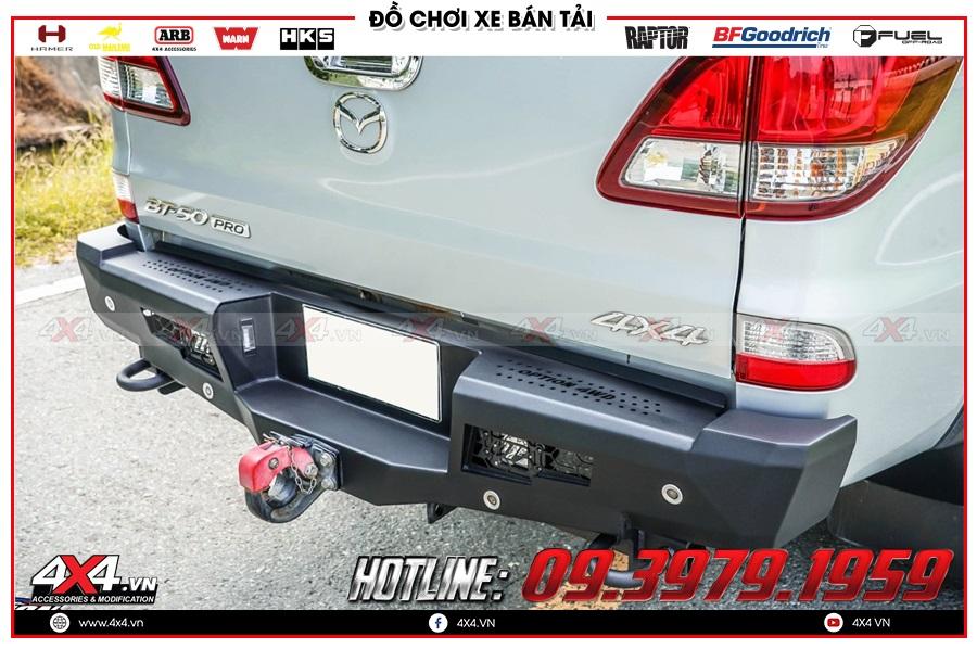 Tư vấn độ móc kéo sau xe Mazda BT50 2020 nhiều tiện ích tại 4x4