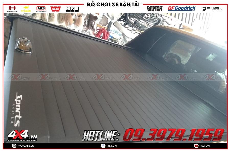 Độ nắp thùng cuộn cho xe Mazda BT50 2020 tiện dụng và giá hợp lý tại 4x4