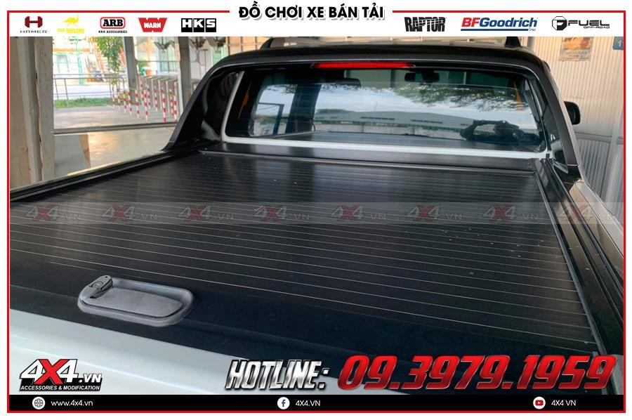 Báo giá nắp thùng cuộn dành cho xe Mazda BT50 2020 hàng nhập Thailand
