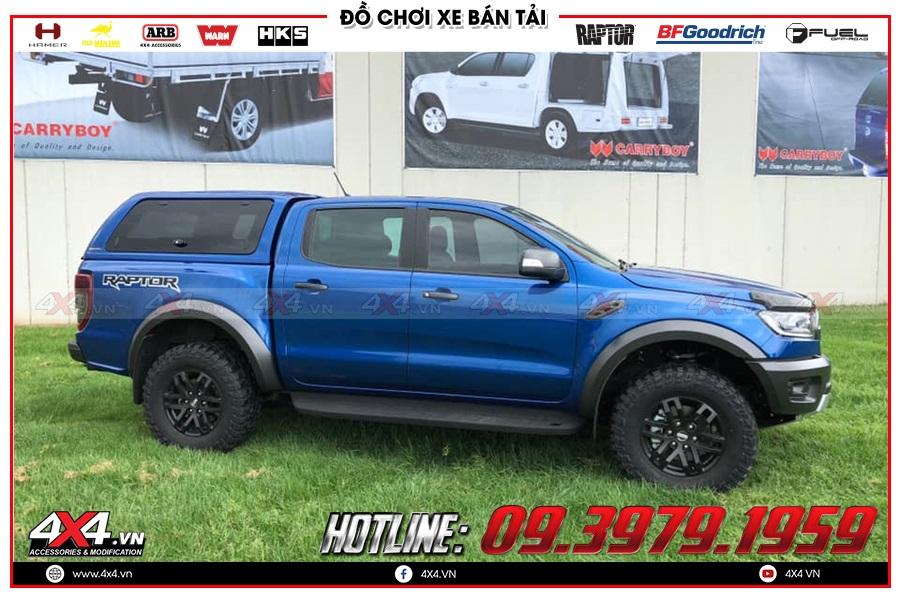 Những mẫu nắp thùng cao cho xe Ranger Raptor đẹp nhất 2020