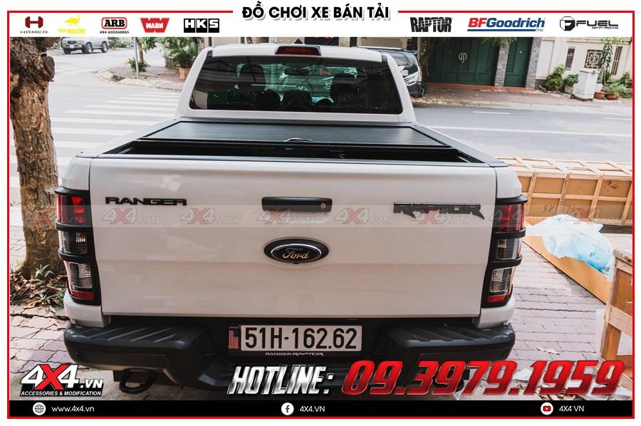 Giá nắp thùng cuộn dành cho xe bán tải 2020 hàng nhập Thailand