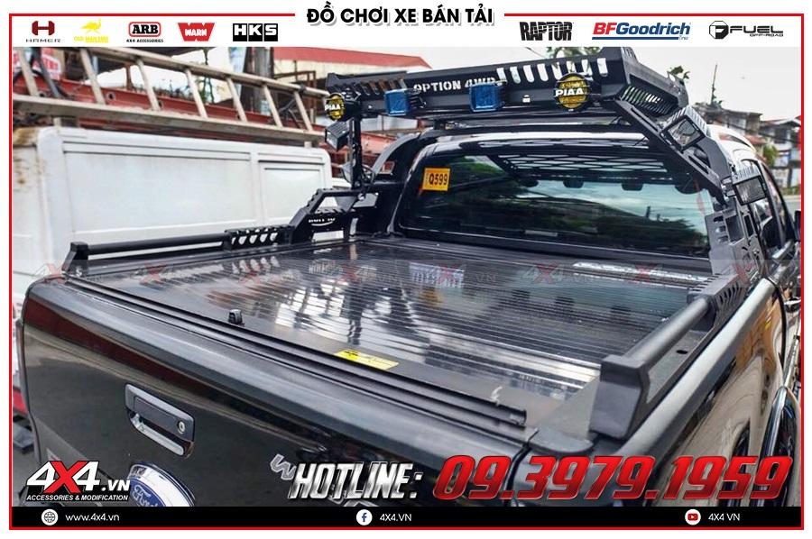 Bảng giá nắp thùng cuộn dành cho xe bán tải 2020 hàng nhập Thailand