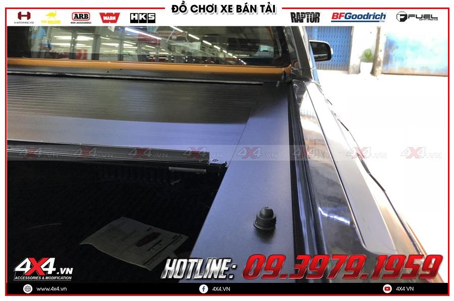 Tư vấn gắn nắp thùng cuộn lên cho xe Ford Ranger 2020 sao cho tiện dụng tại 4x4
