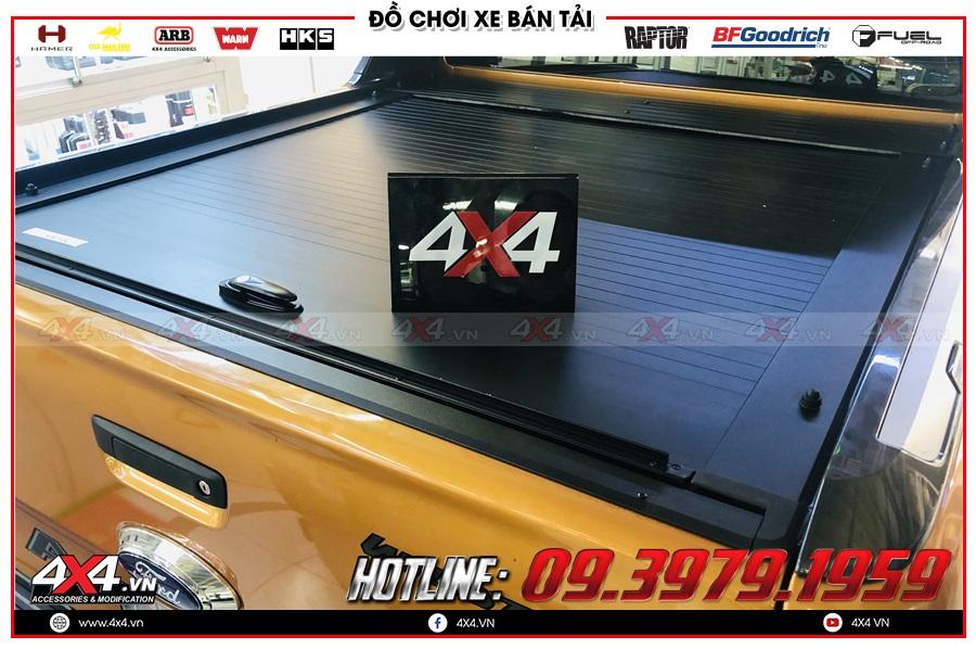 Tư vấn gắn nắp thùng cuộn dành cho xe Ford Ranger 2020 sao cho tiện dụng và giá hợp lý tại 4x4