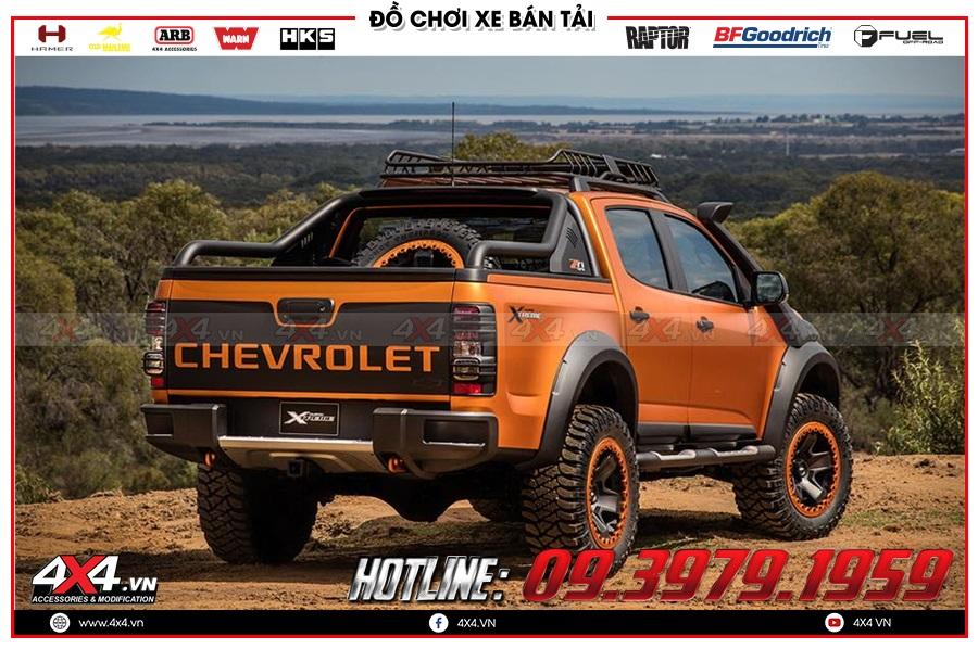Lời khuyên thay ống thở lên cho xe Chevrolet Colorado 2020 sao cho khủng tại 4x4
