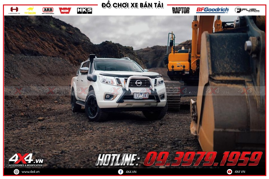 Báo giá ống thở dành cho xe Nissan Navara 2020 hàng nhập Thái Lan