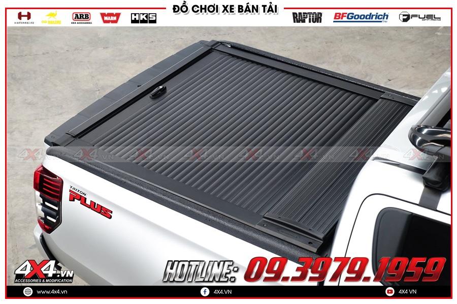 Chuyên gắn nắp thùng cuộn dành cho xe Mitsubishi Triton 2020 nhập khẩu chính hãng Thái Lan