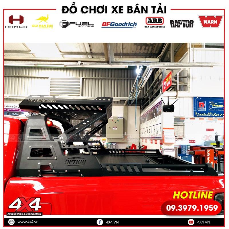 Thanh thể thao Option 4WD độ đẹp và hầm hố cho xe bán tải Mazda BT-50