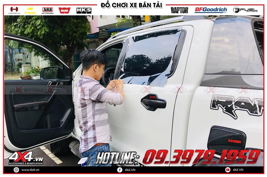 Tư vấn phim cách nhiệt xe Bán tải giá tốt tại Sài Gòn