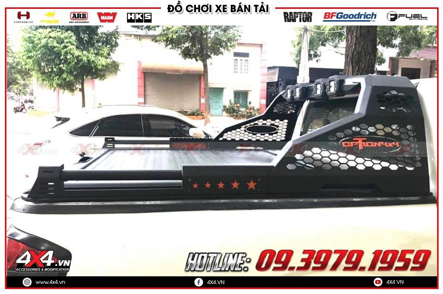 Thanh thể thao Option 4x4 dành độ đẹp cho xe bán tải Mazda BT-50