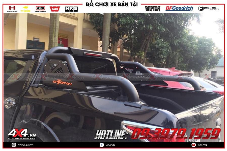 Xe bán tải Mazda BT-50 độ thanh thể thao Option 4x4 giúp xe thêm đẹp và đẳng cấp hơn