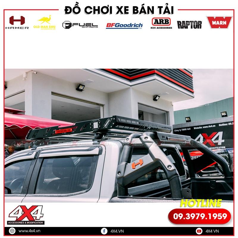 Baga mui Hamer kết hợp thêm khung thể thao Hamer khiến xe thêm đẹp và chất lừ