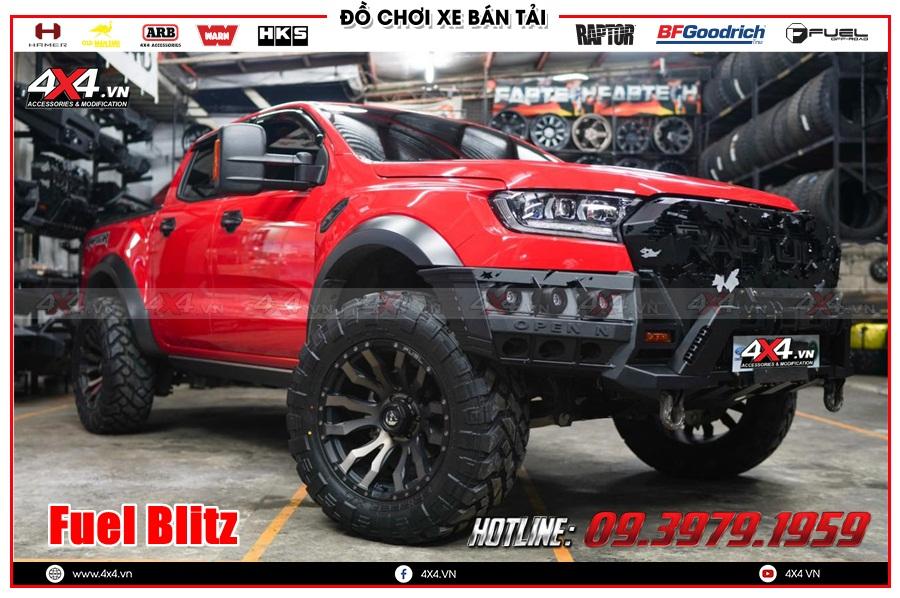 Mâm Fuel Blitz độ cho xe Ranger Raptor 2020 2021 tại TP HCM