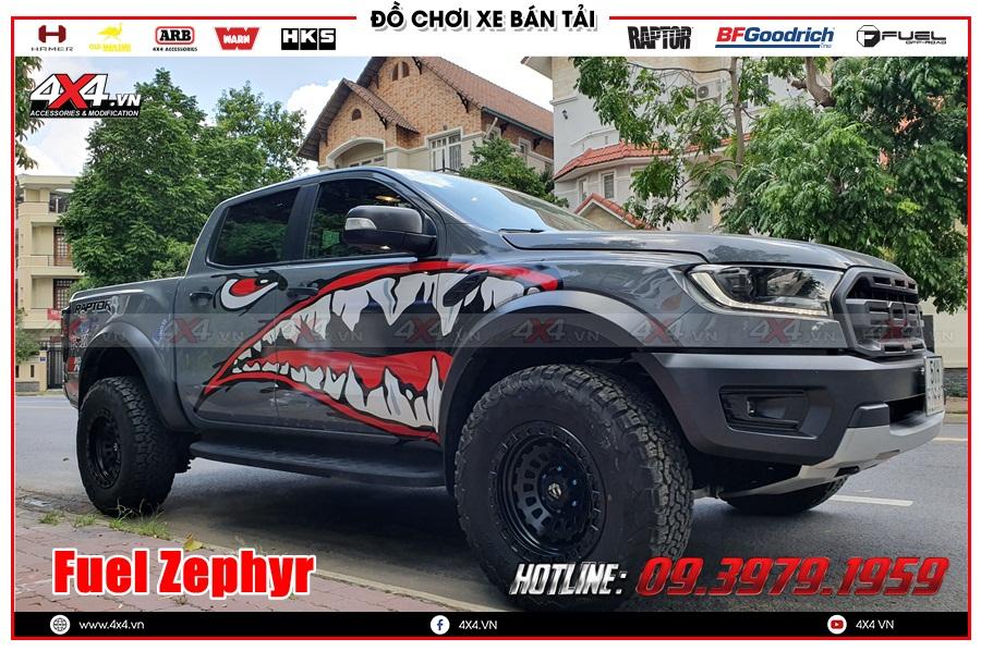 Mâm Fuel Zephyr độ cho xe Ranger Raptor 2020 2021 ở TP HCM