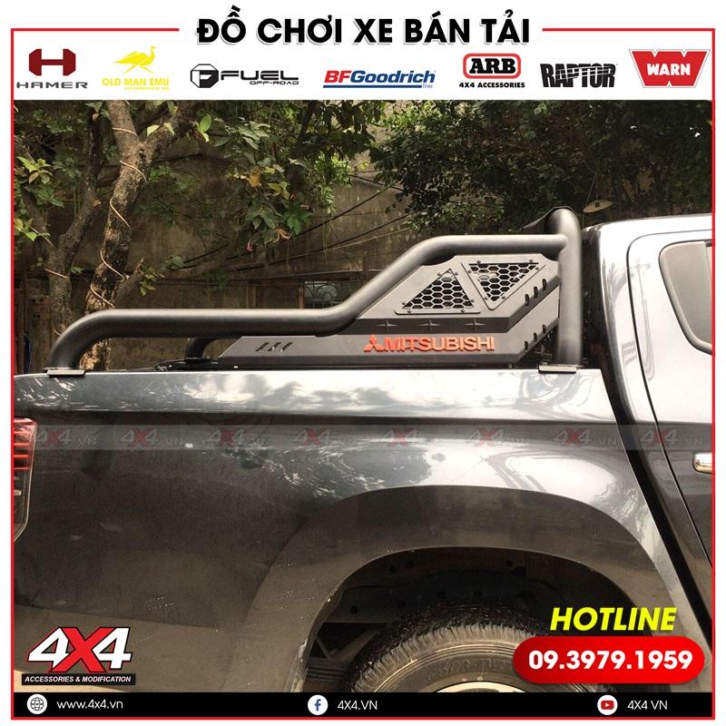 Thanh thể thao Offroad độ đẹp và cứng cáp dành cho xe bán tải Mitsubishi Triton
