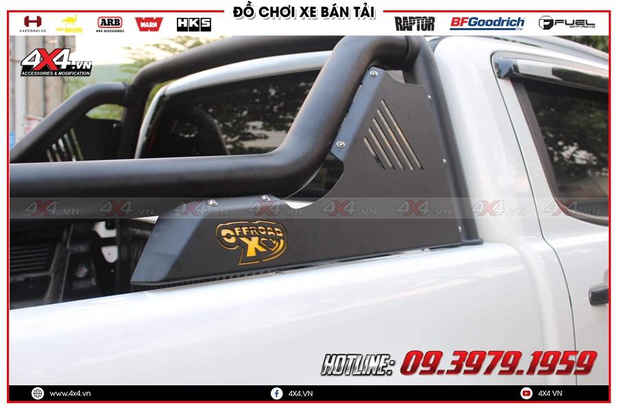 Gắn thanh thể thao OFX cho xe Bán tải cực đẹp tại 4x4 Sài Gòn