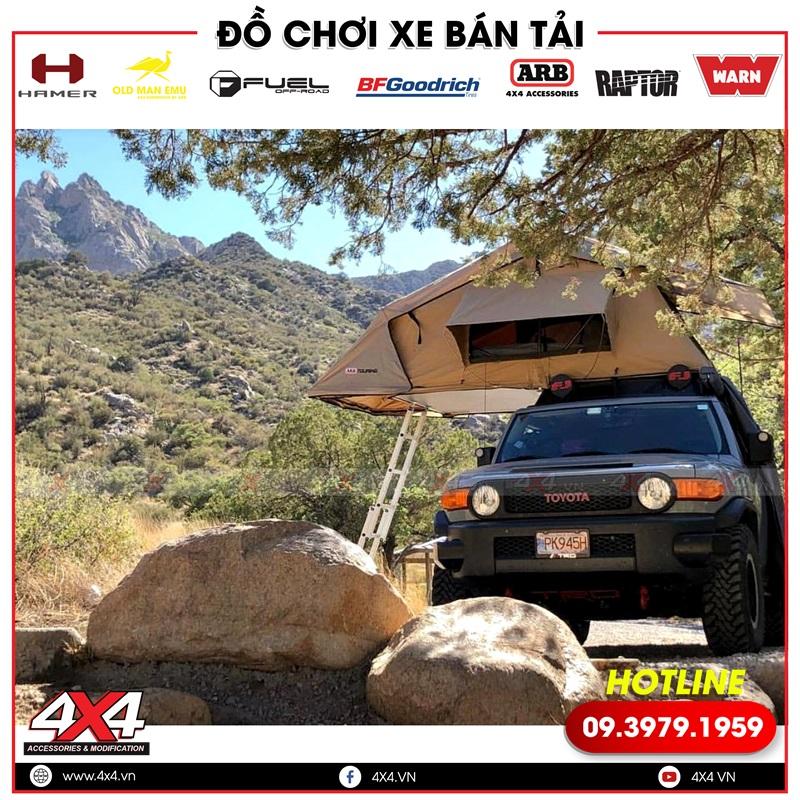 Xe bán tải gắn lều ARB nhỏ gọn và cực kỳ tiện lợi