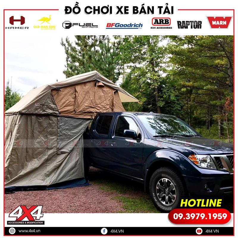 Xe bán tải gắn lều ARB giúp bạn thêm tiện lợi và dễ dàng hơn khi nghỉ ngơi ở một nơi xa
