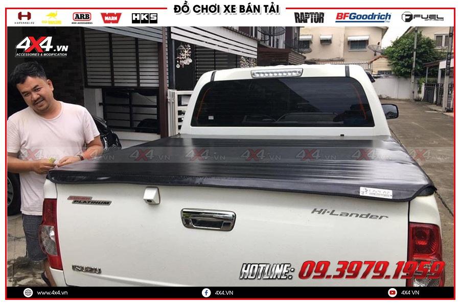 Công ty 4x4 chuyên cung cấp các sản phẩm nắp thùng cuộn mềm xe bán tải