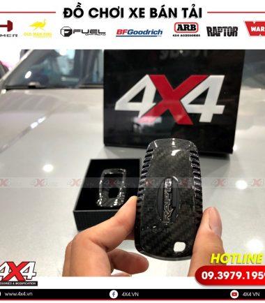 Ốp chìa khóa carbon độ đẹp và đẳng cấp dành cho xe bán tải Ford Ranger Raptor