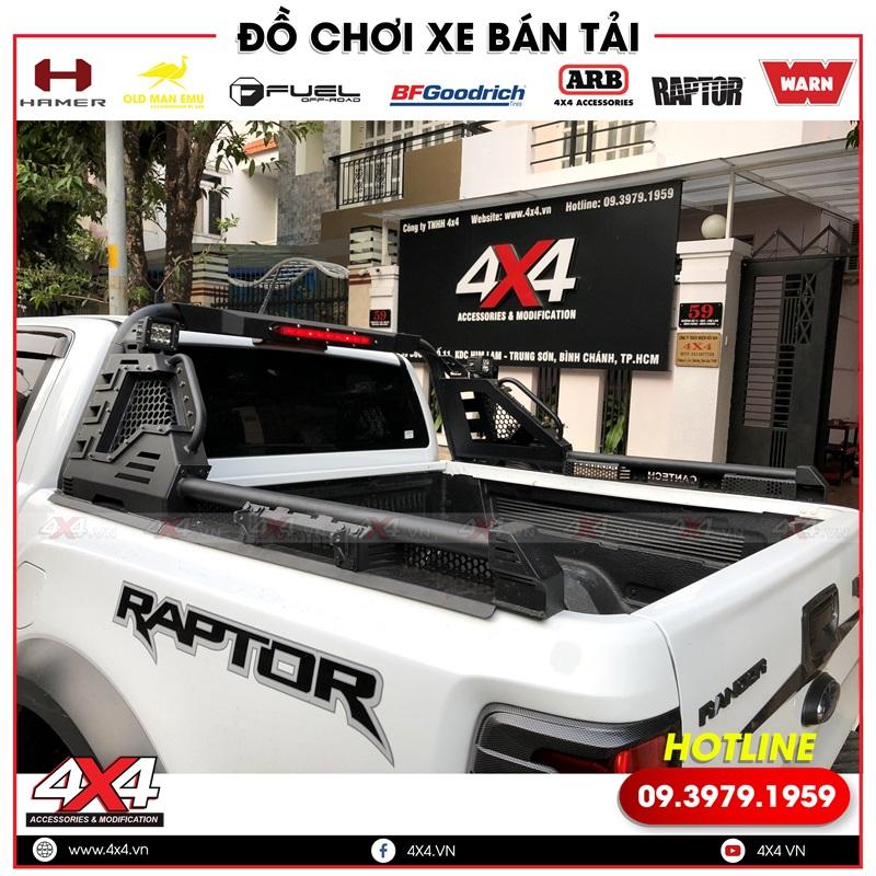 Thanh thể thao Cantech với thiết kế độc đáo và đẹp độ cho xe bán tải Ford Ranger Raptor