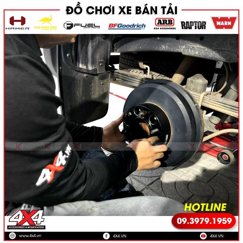 Wheel Spacer mâm loại tốt độ giúp đôn rộng bánh cho xe bán tải Chevrolet Colorado