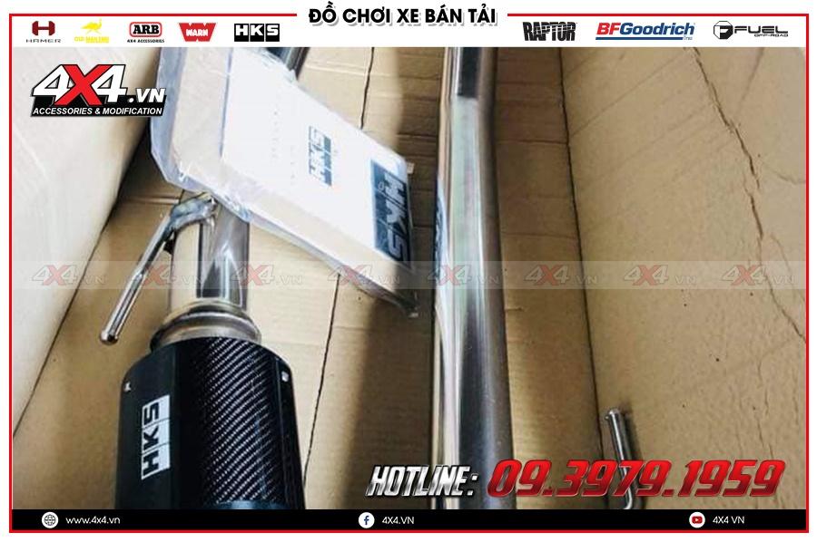 Lắp đặt Pô độ Xe Toyota Hilux xịn và chất nhất