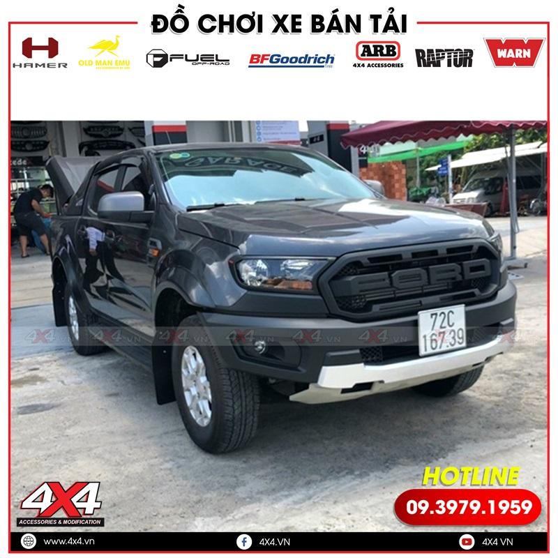 Nâng cấp lên body kit Ford Ranger Raptor giúp xe bán tải Ford Ranger đẹp và đẳng cấp hơn