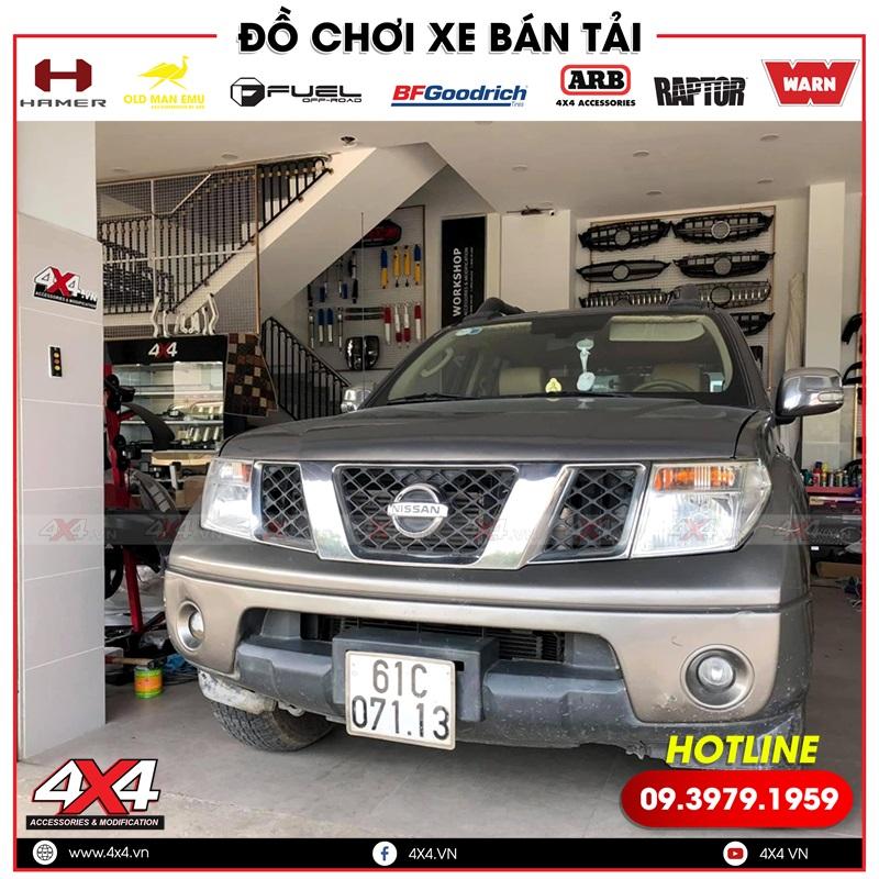 Xe bán tải Nissan Navara độ thanh thể thao Offroad tại 4x4