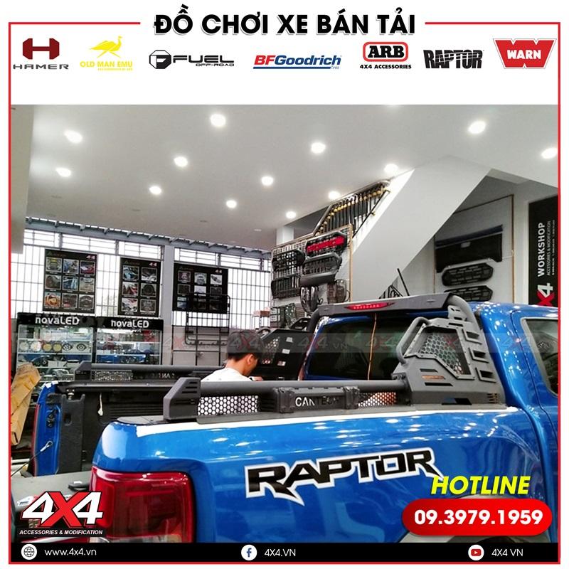 Xe bán tải Ford Ranger Raptor độ thanh thể thao Cantech đẹp và đẳng cấp