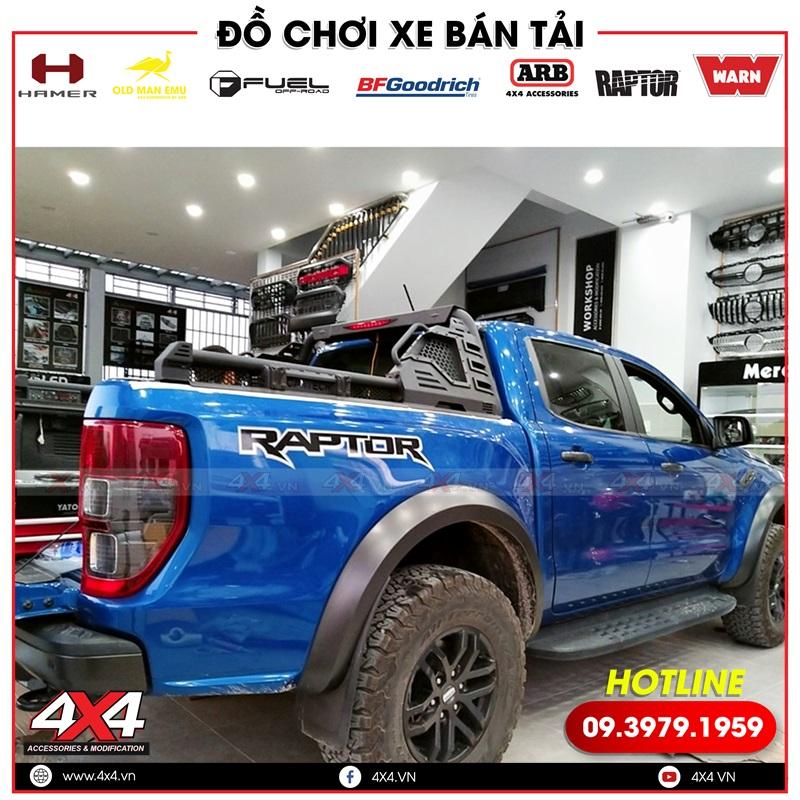 Thanh thể thao Cantech độ đẹp, chất và đẳng cấp cho xe bán tải Ford Ranger Raptor