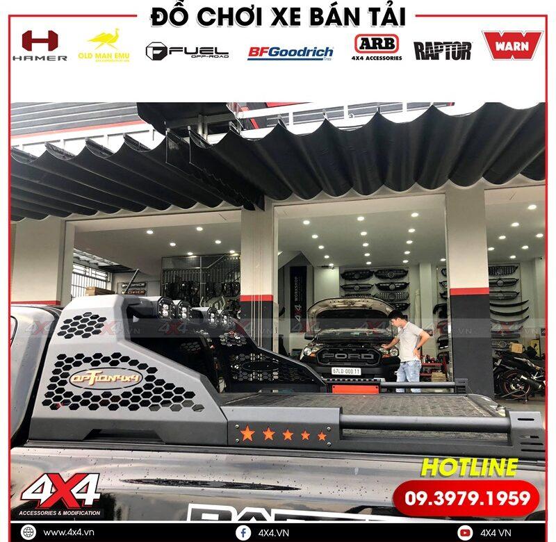 Thanh thể thao Option 4x4 độ đẹp dành cho xe bán tải Ford Ranger