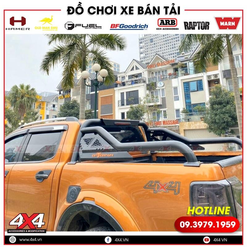 Thanh thể thao Option 4x4 với kiểu dáng đẹp, chất và cứng cáp dành cho Ford Ranger