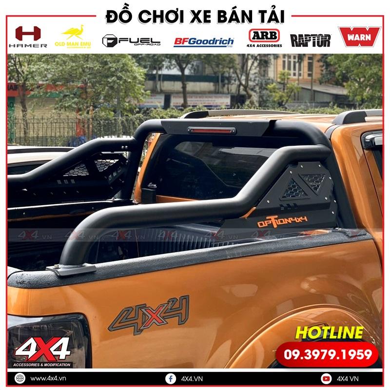 Xe bán tải Ford Ranger độ thanh thể thao Option 4x4 độ đẹp và chất