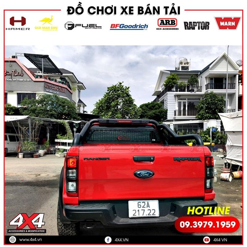 Thanh thể thao Offroad độ đẹp, chất và đẳng cấp dành cho xe bán tải Ford Ranger