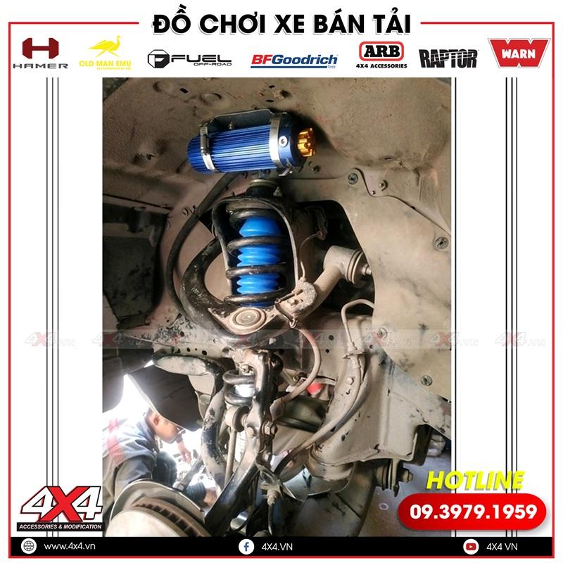 Phuộc độ chất và đẳng cấp Profender trung cấp dành cho xe bán tải Toyota Hilux