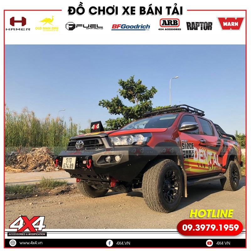 Bộ mâm Fuel Vapor độ đẹp và cứng cáp dành cho xe bán tải Toyota Hilux