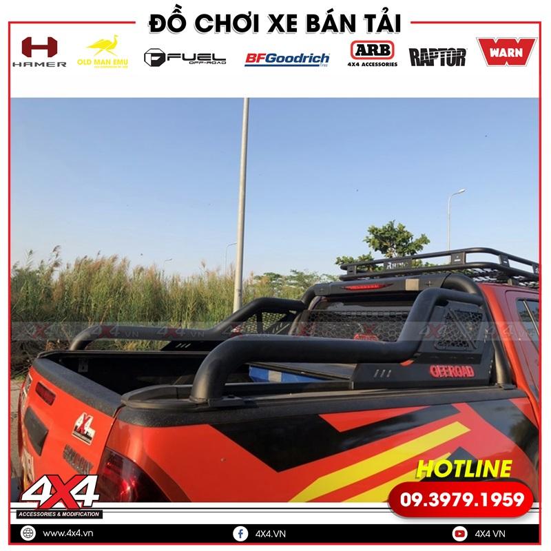 Xe bán tải Toyota Hilux độ thanh thể thao Offroad cực chất và hầm hố